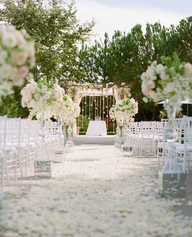 Mariage - Un mariage romantique All-Blanc par Marisa Holmes