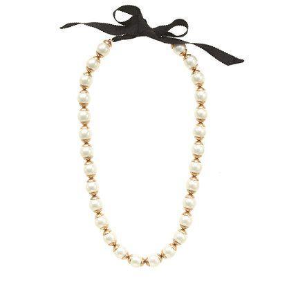 Mariage - Doré-bord collier de perles
