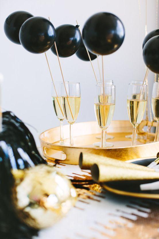 Hochzeit - Balloon Trinken Rührer!
