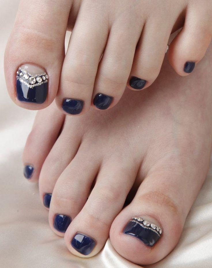 Wedding Nail Designs - 12 Nail Art Ideas For Your Toes #2040796 ...