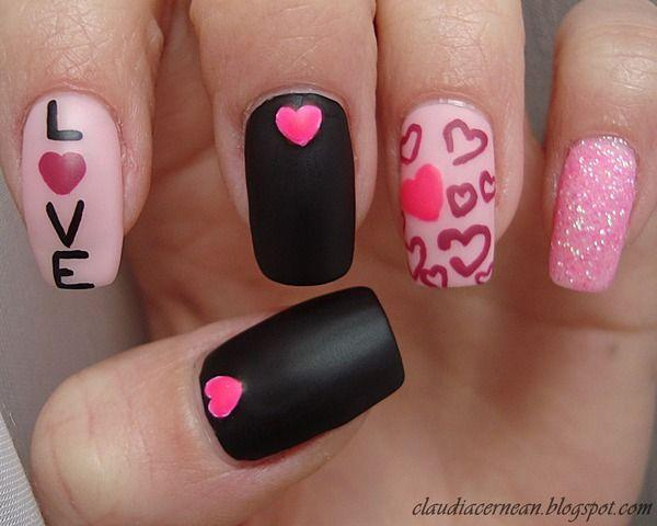 Wedding Nail Designs 20 Valentines Day Nail Art Ideas 2040800