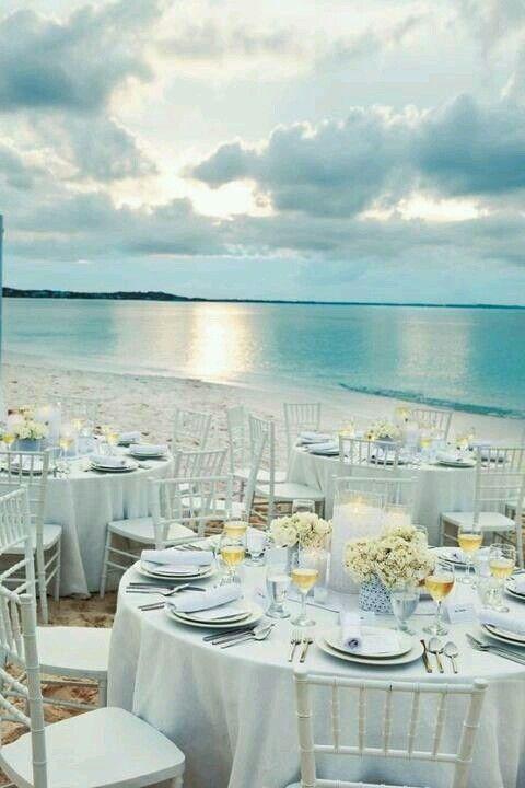 beach wedding beach wedding reception 2040858 weddbook. Black Bedroom Furniture Sets. Home Design Ideas