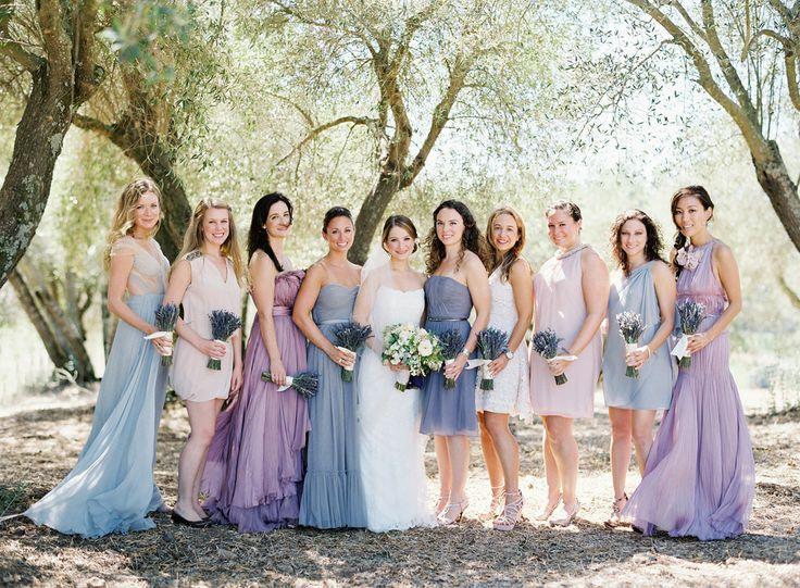 Bridesmaid - Multi Coloured Bridesmaid Dresses #2040879 - Weddbook