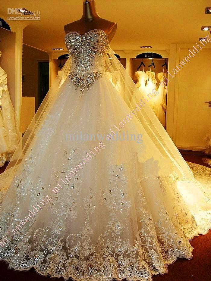 See more about bling wedding dresses