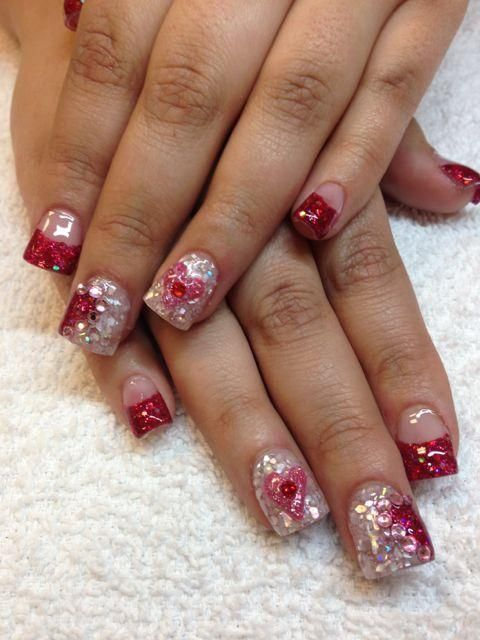 Wedding Nail Designs Valentine Nail Designs Google Search