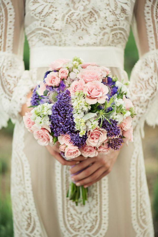 Wedding Bouquet - Pink And Lavender Wedding Bouquet #2041199 - Weddbook