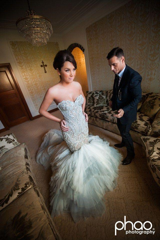 Dress recent bride wearing j 39 aton couture 2041328 for J aton wedding dress