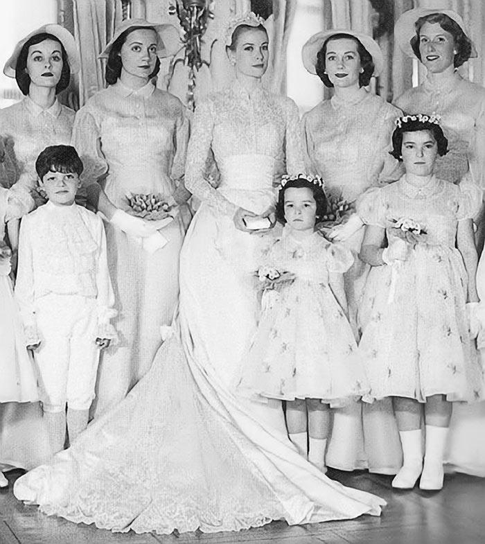 Celebrity Wedding Grace Kelly 2041477 Weddbook
