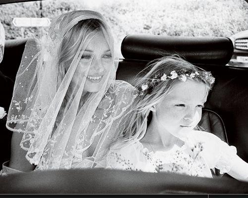 Hochzeit - Kate Moss