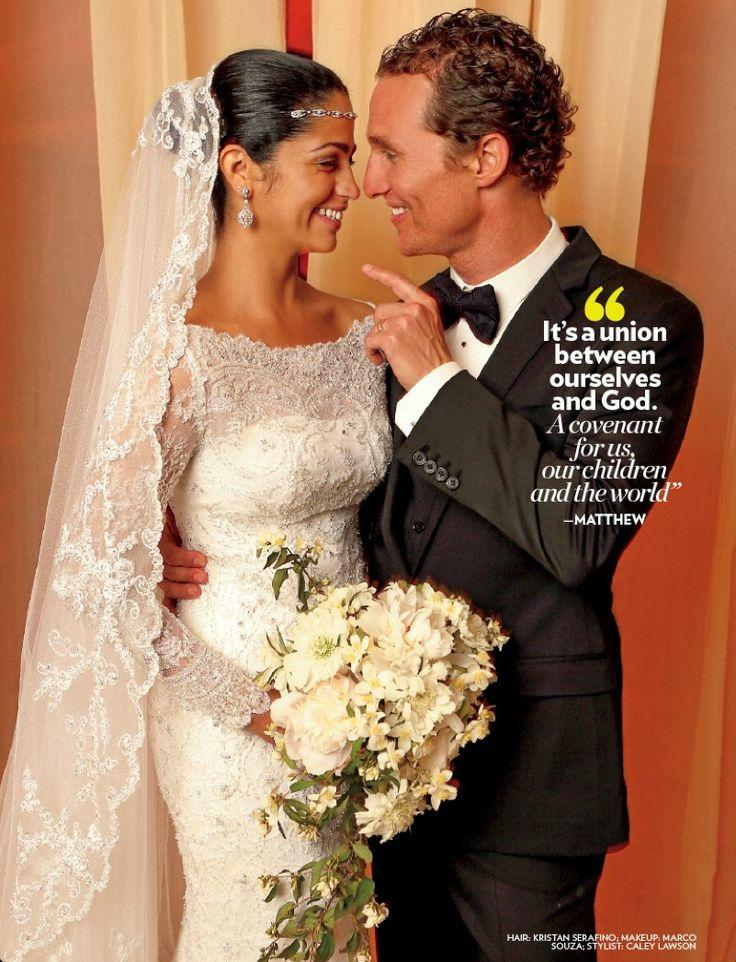 Celebrity Wedding Matthew Mcconaughey And Camila Aviles 2041585