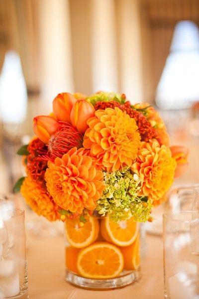 Свадьба - Tangerine / Оранжевый Центральным