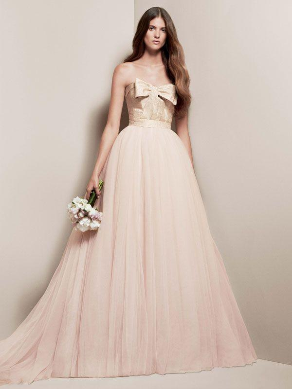 Pink Wedding Dresses David S Bridal : Wedding nail designs blush dress from david s bridal