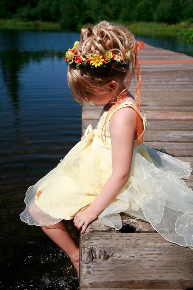 Hochzeit - Blumen-Mädchen