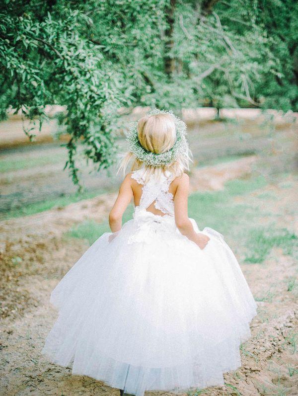 Hochzeit - Couture Blumenmädchenkleider Mit Amalee Zubehör
