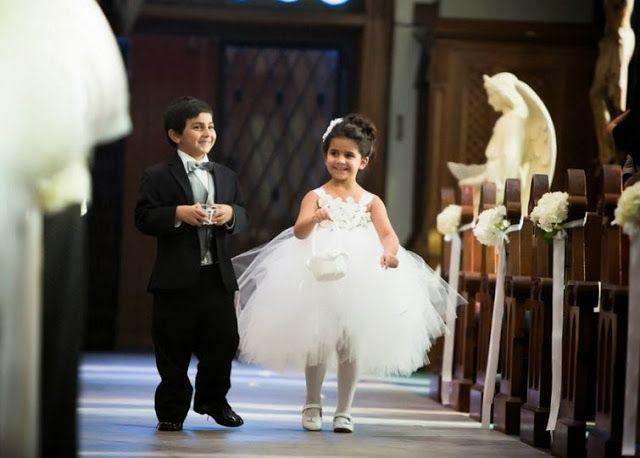 Ring Photos Flower Girl And Ring Bearer 2042682 Weddbook