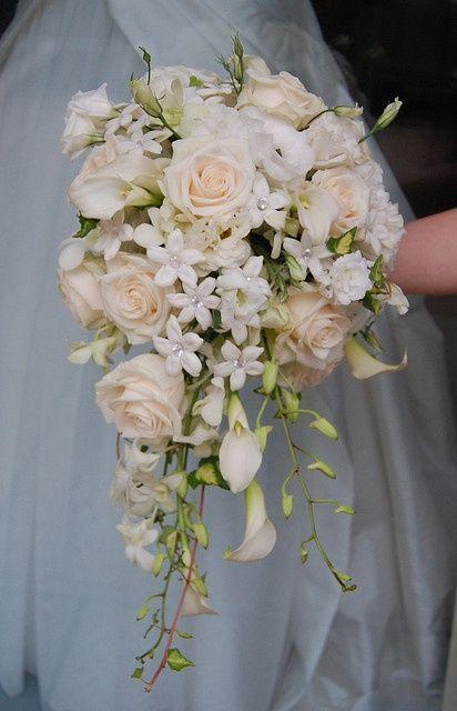 bouquet / fleur - blanc cascade #2043214 - weddbook