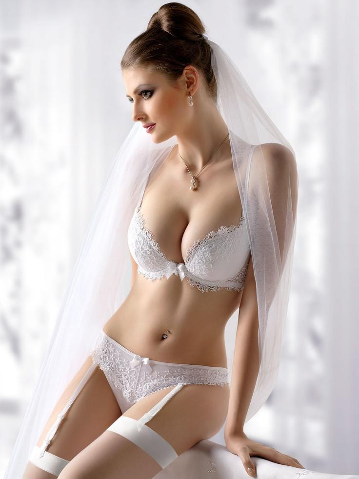 Black bridal lingerie