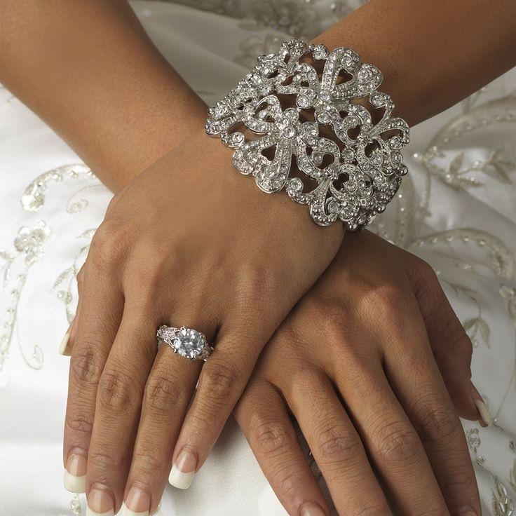 Mariage - Bracelet manchette