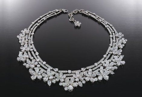 Wedding Diamond Diamond Necklace 2044010 Weddbook