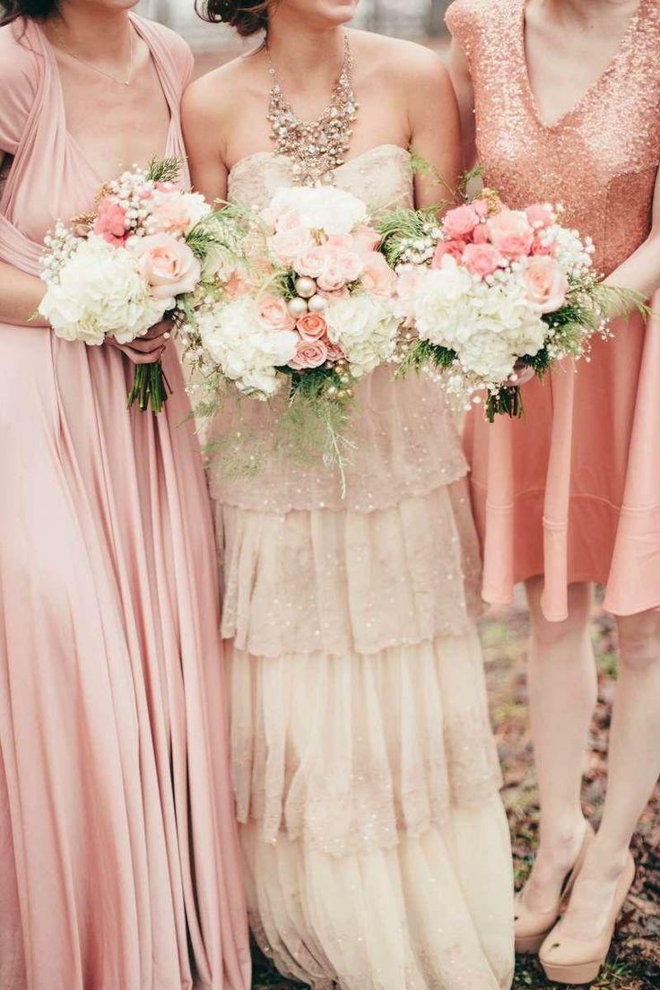 Wedding - Ballerina Blush And Gold Wedding Inspiration