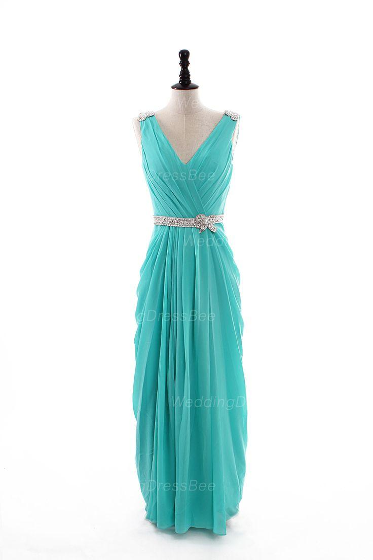 Tiffany blue bridesmaid dresses wedding cocktail dresses for Wedding dresses with tiffany blue