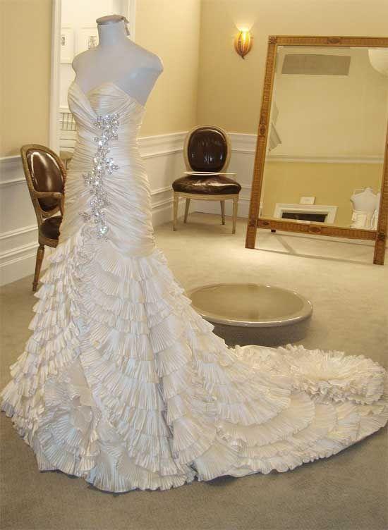 زفاف - وراء الكواليس: العثور فستان سارة!