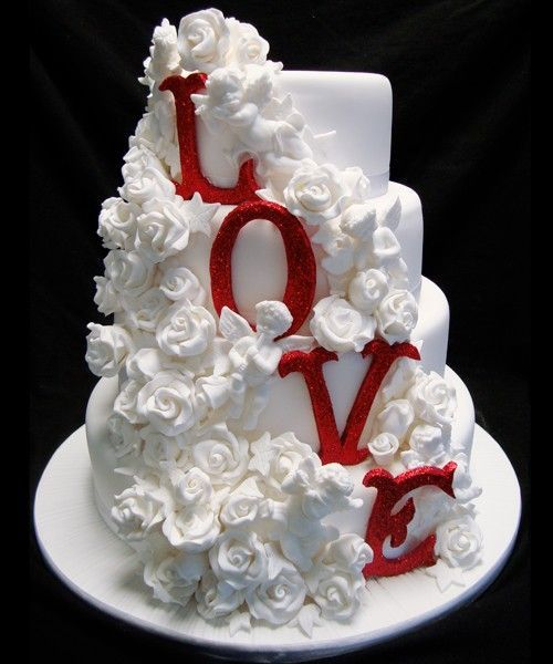 weddings - love is sweet and covered in fondant #2046326 - weddbook, Ideas