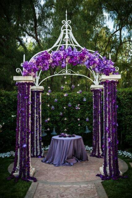 Mariage - violet