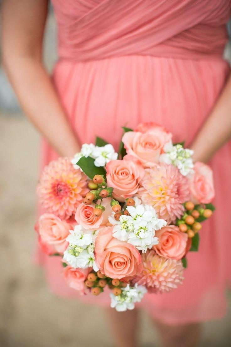 Coral Wedding - Bouquets #2046376 - Weddbook