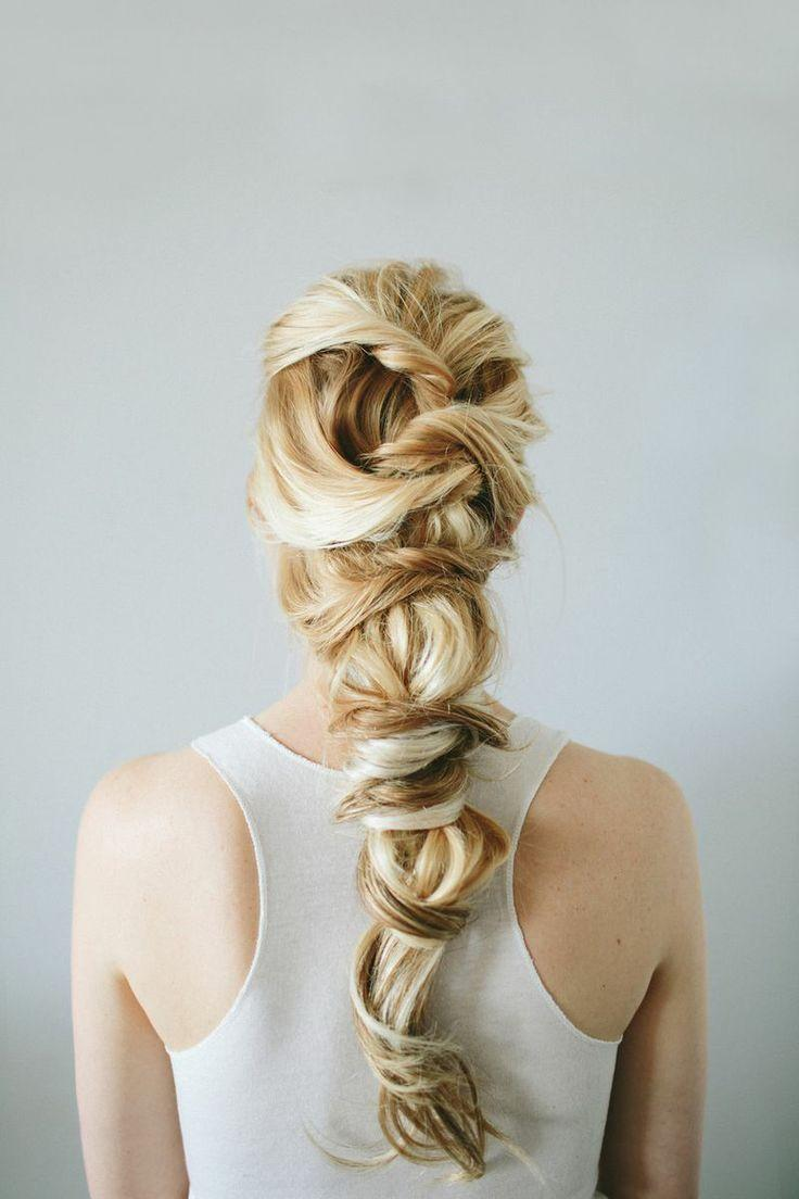 Wedding Hairstyles - Twist Braid Hair Tutorial #2046379 - Weddbook