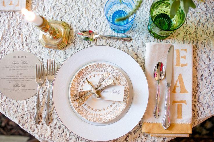 Wedding - Eclectic Jewel Toned Wedding Inspiration