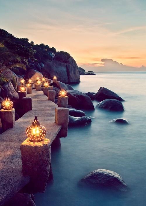 زفاف - كوه تاو، تايلاند