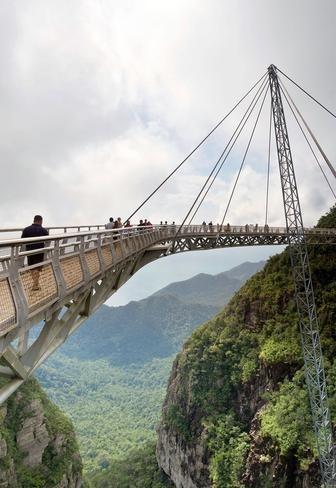 Wedding - World's Most Spectacular Pedestrian Bridges