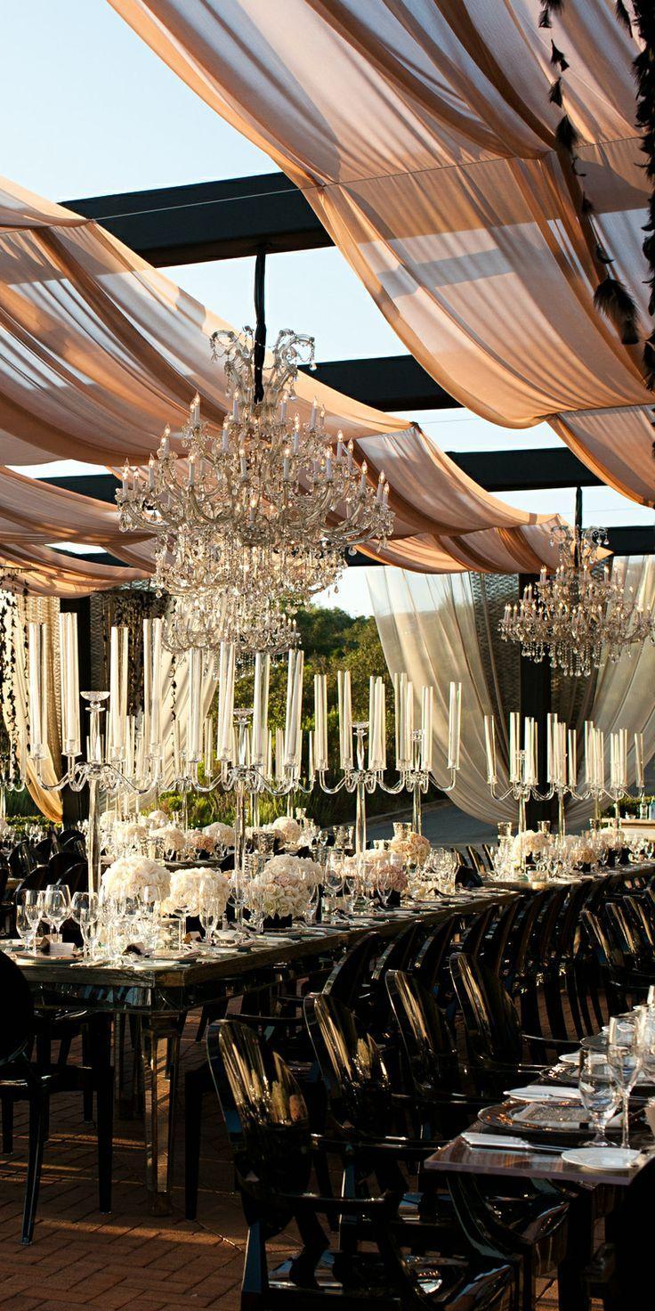 Свадьба - Tablescape ● Открытый Элегантность
