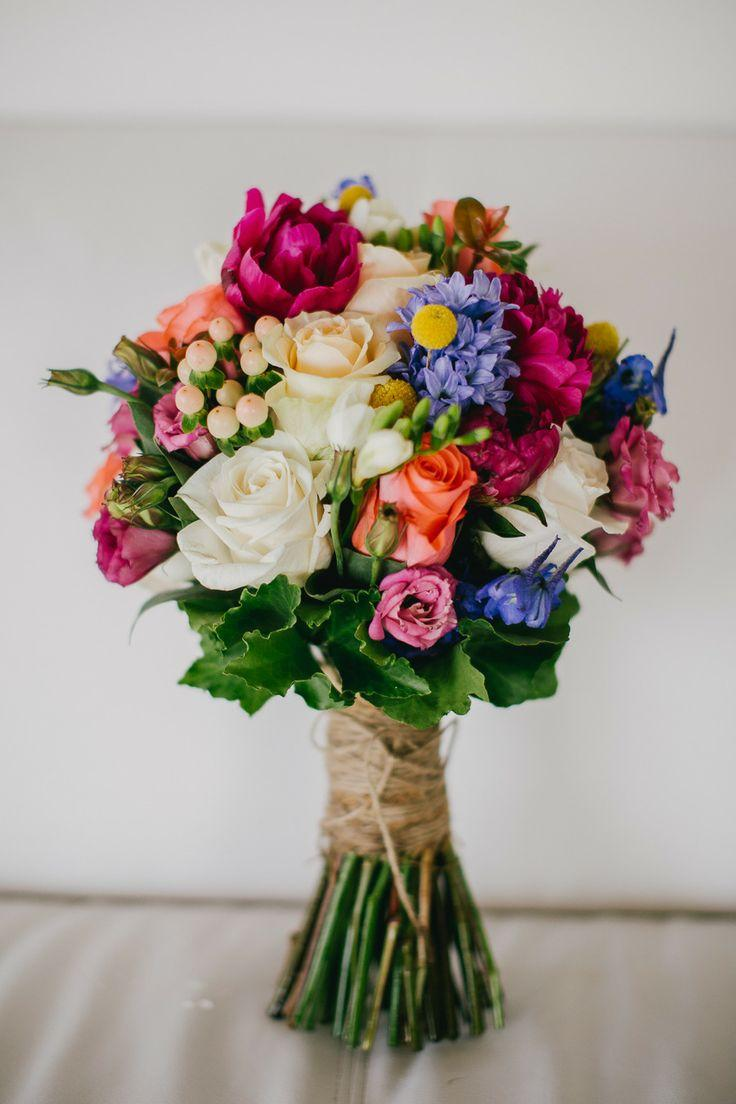 Bouquet/Flower - Colorful Bouquet With Colorful Flowers #2046620 ...