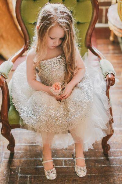 Wedding - Sparkling Flower Girl