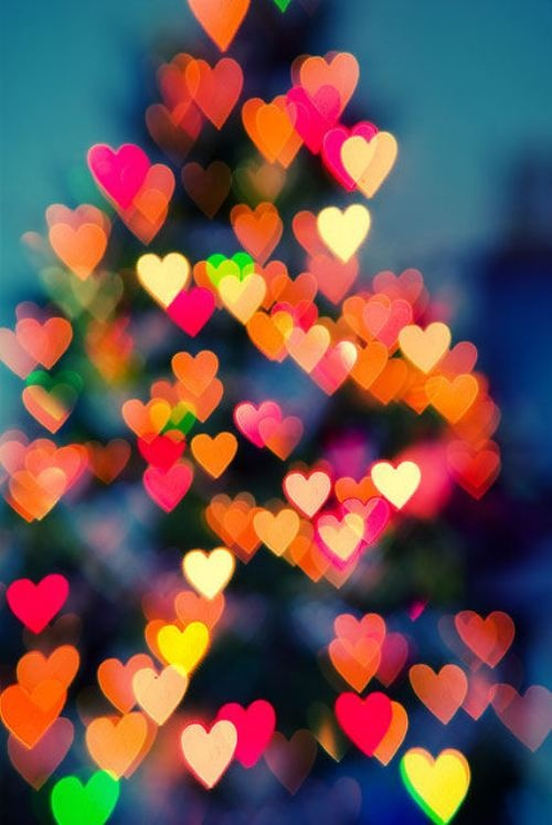 Mariage - D'arbre de Noël # Coeurs