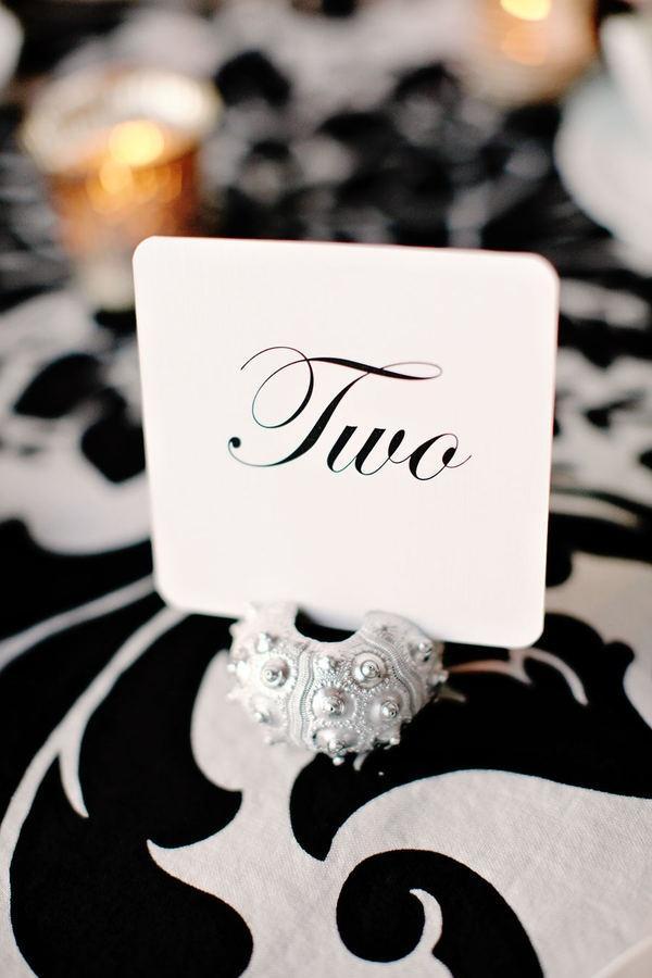Hochzeit - Tischnummern