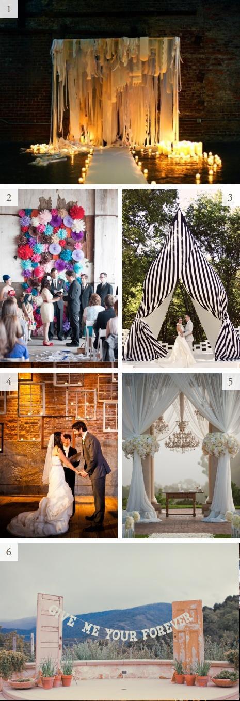 Mariage - Idées de cérémonie de mariage de Toile de fond