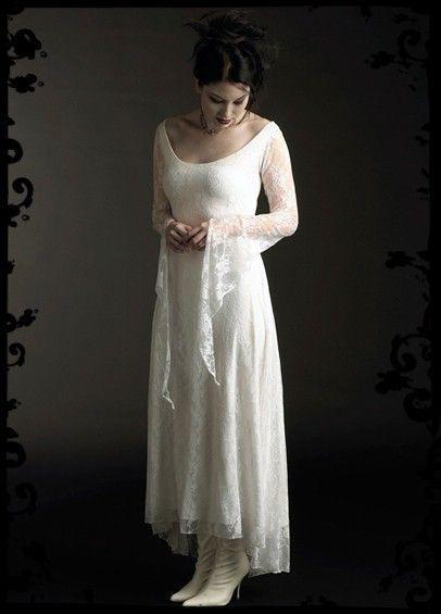 Laurier Fairy Hochzeitskleid In Spitze - Kundenspezifische Elegante ...