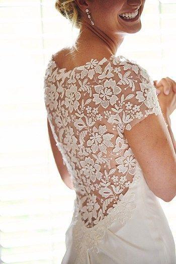 Wedding - Lace Lovers Wedding Dress Inspiration