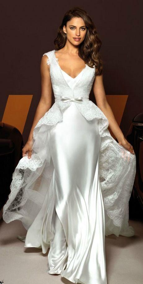 Wedding Off Shoulder Pencil Dress
