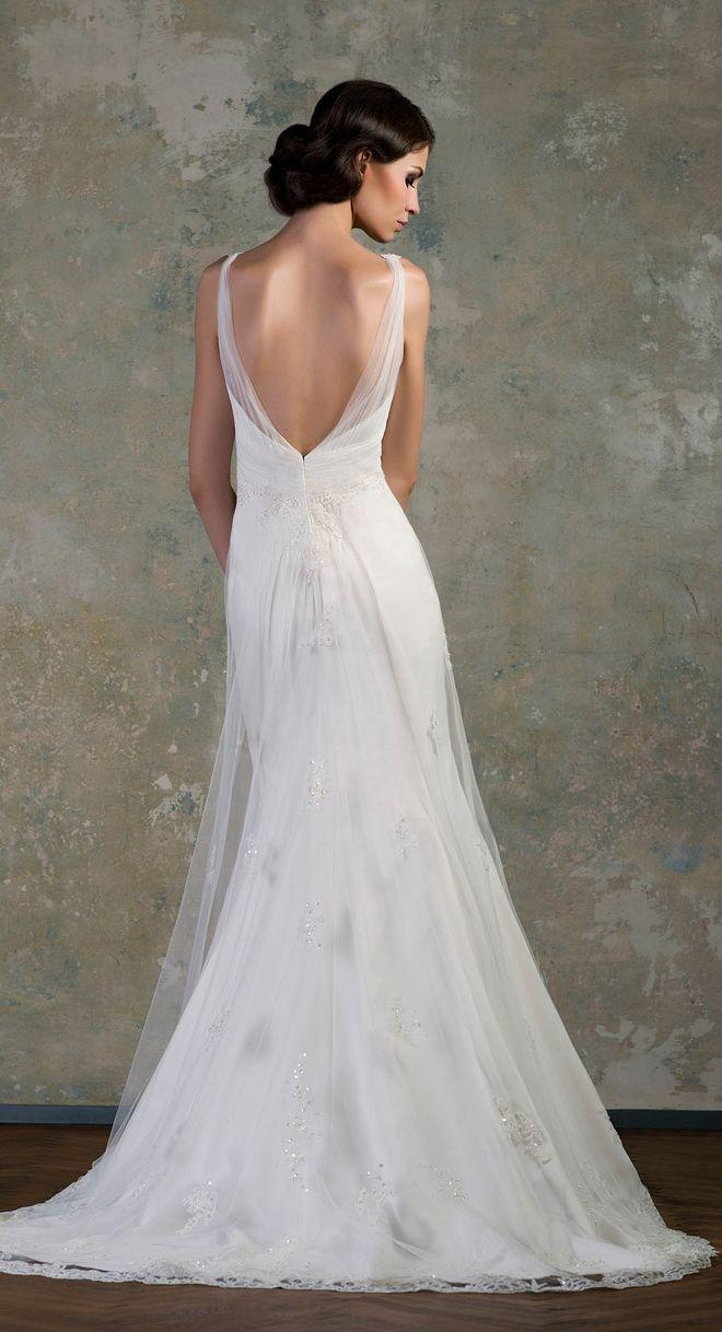 Backless dresses gorgeous 2046928 weddbook for Gorgeous backless wedding dresses