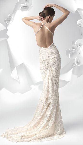 Hochzeit - Rückenfreies Hochzeitskleid 2013