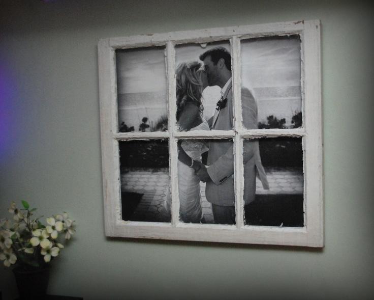 Как украсить старое окно своими руками 60