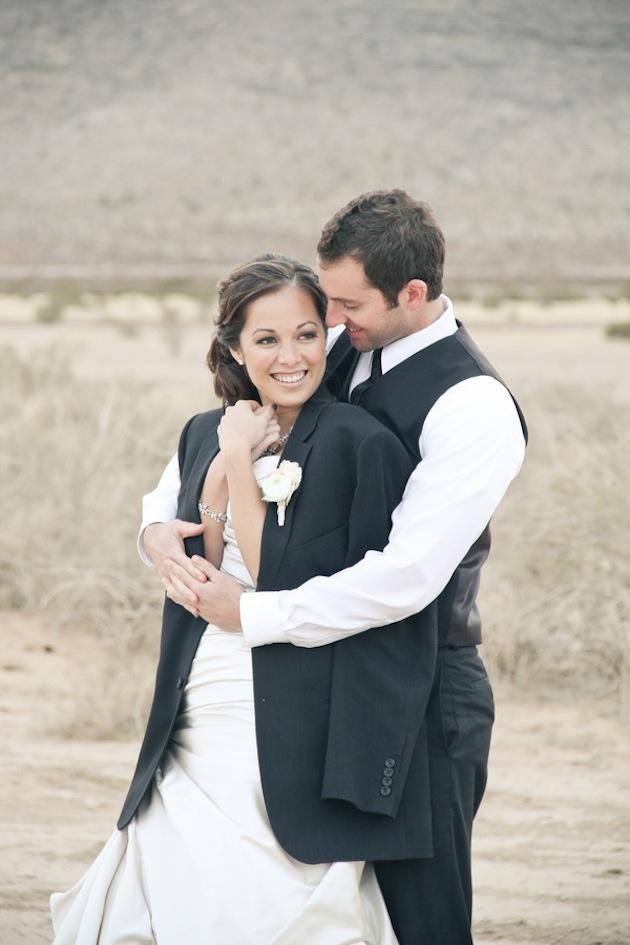 Wedding - Glamourous Diamonds & Desert Bridal Shoot