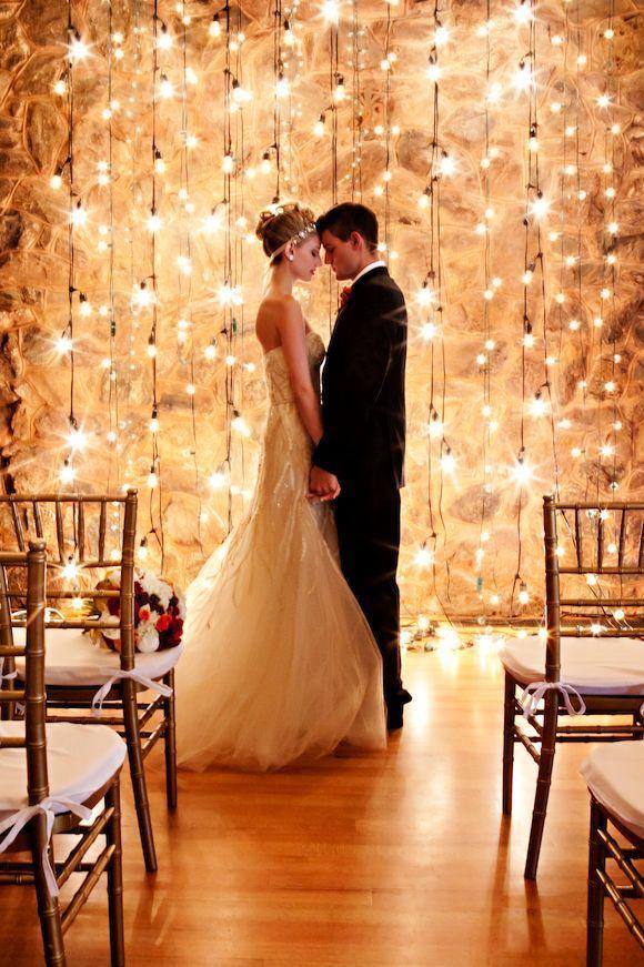Wedding - Lights Backdrop