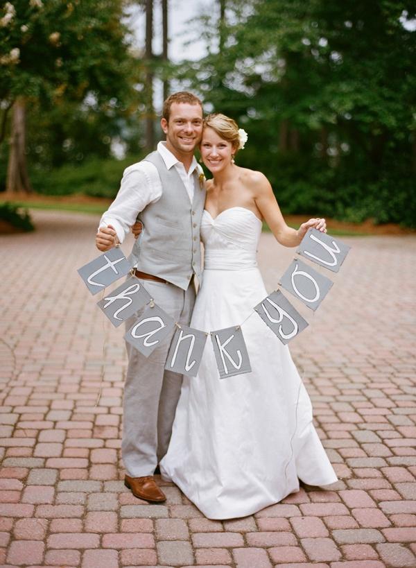 Свадьба - Идея Благодарю Вас Карточки