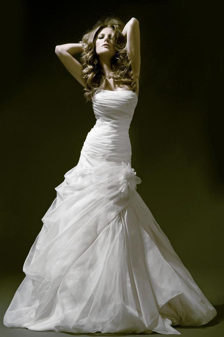 Strapless Dresses - Lace Panina Wedding Dress #2047042 - Weddbook