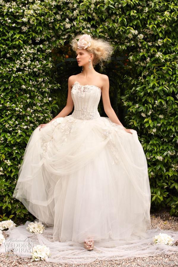 زفاف - محترفه ايمي فساتين الزفاف الرومانسية